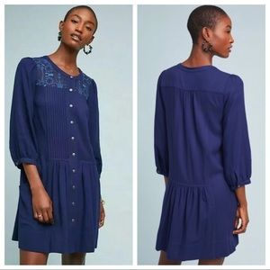 🆕NWT Anthropologie button down shirt dress